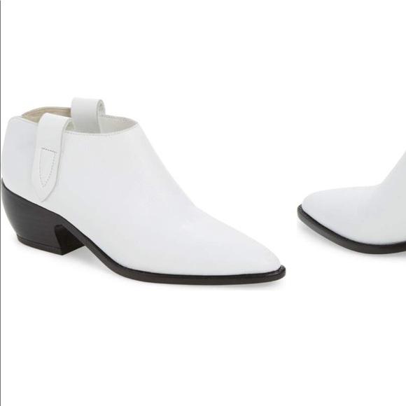 Sigerson Morrison Shoes - Sigerson Morrison Doris Booties White